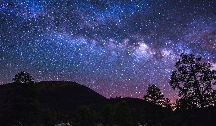 انشا در مورد آسمان شب