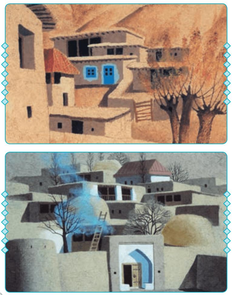 انشا در مورد تصویر نویسی صفحه 23 پایه هفتم
