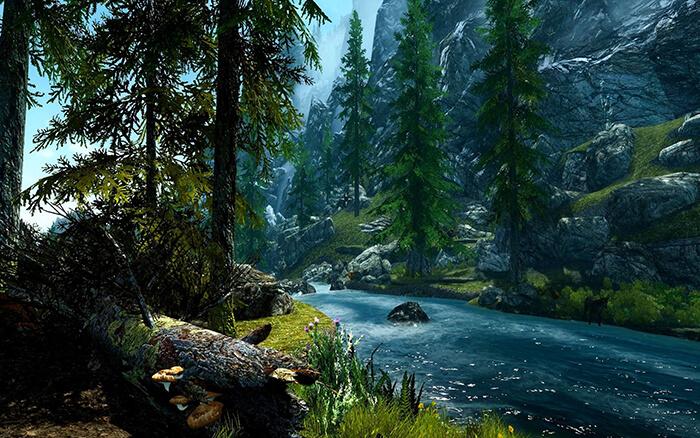 گذر رودخانه انشا نهم
